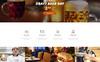 Black Bear Bar - Food & Restaurant Ready-to-Use Modern HTML5 Website Template Big Screenshot