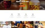 Black Bear Bar - Food & Restaurant Ready-to-Use Modern HTML5 Website Template