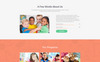 Responsywny szablon Landing Page Kinderex - Kids Learning Center Clean HTML5 #78185 Duży zrzut ekranu