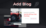 Autotune - Cars Spare Parts Clean Bootstrap Ecommerce Tema PrestaShop  №78206