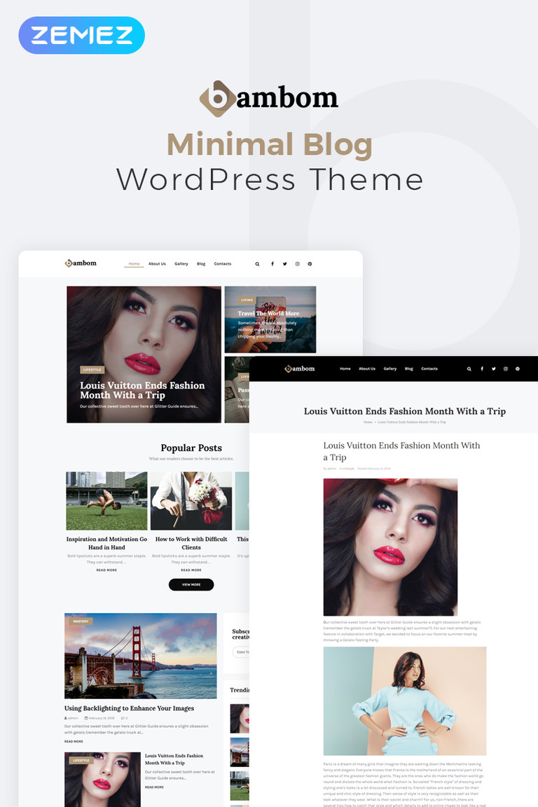 Image result for bambom wordpress