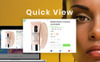"PrestaShop Theme namens ""Vente - Cosmetics Store Clean Bootstrap Ecommerce"" Großer Screenshot"
