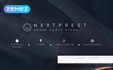 """Nextprest - Spare Parts Store Clean Bootstrap Ecommerce"" - адаптивний PrestaShop шаблон"