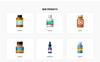 Responsive Medina - Pharmaceutical Company Modern HTML Açılış Sayfası Şablonu Büyük Ekran Görüntüsü