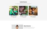 Sunrise - Charity Foundation Modern HTML5 Landing Page Template