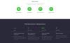 """""""Oliver Bates - Copywriting Services Classic Ready-to-Use HTML5"""" modèle web adaptatif Grande capture d'écran"""