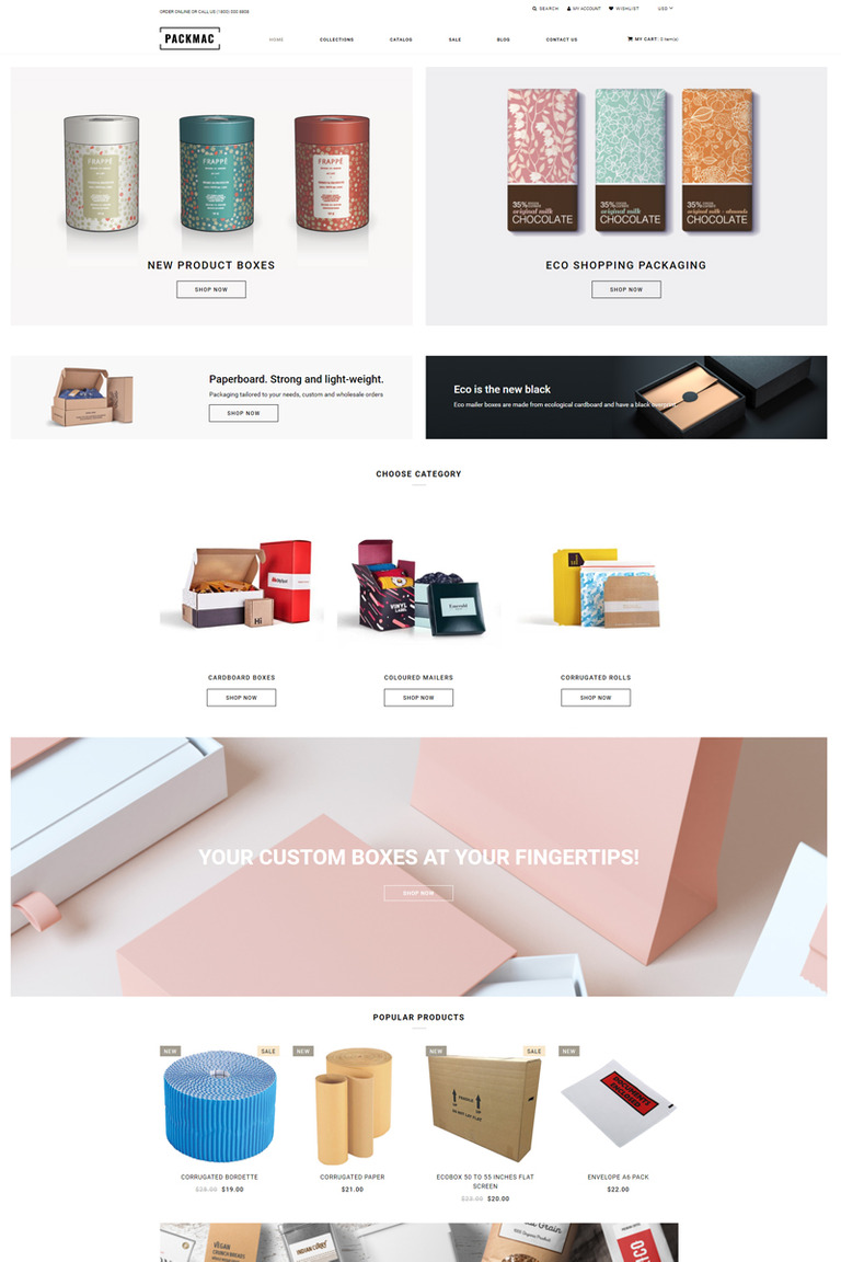 a8e7e6484c2 Packmack - Packaging Multipage Clean Shopify Theme New Screenshots BIG