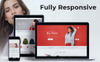"""Nextprest - Fashion Store Clean Bootstrap Ecommerce"" Responsive PrestaShop Thema Groot  Screenshot"