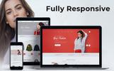 """Nextprest - Fashion Store Clean Bootstrap Ecommerce"" thème PrestaShop adaptatif"