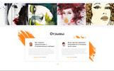 """Jasmine Maills - Art Multipage Creative HTML"" Responsive Ru Website Template"