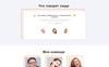 Jasmine Maills - Art Multipage Creative HTML Ru Website Template Big Screenshot