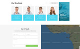 "Tema di Landing Page Responsive #78945 ""Diamond - Dentistry Clean HTML Bootstrap4"""