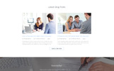 "Landing Page Template namens ""Progressive - Insurance Clean HTML Bootstrap4"""