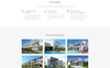 """Charles Flynn - Real Estate Agency Clean HTML"" Responsive Landingspagina Template Groot  Screenshot"
