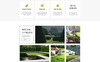 Responsive GREENPOINT - Landscape Design Creative HTML Bootstrap Açılış Sayfası Şablonu Büyük Ekran Görüntüsü