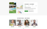 """GREENPOINT - Landscape Design Creative HTML Bootstrap"" Responsive Landingspagina Template"