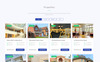 """Homeland - Real Estate Agency Classic Bootstrap4 HTML"" Responsive Landingspagina Template Groot  Screenshot"