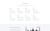 Responsivt Profilab - Marketing Agency Clean HTML Bootstrap Landing Page-mall En stor skärmdump