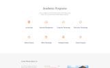 """Responzivní Šablona mikrostránek """"Chester - University Modern HTML Bootstrap"""""""