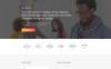 """Responzivní Šablona mikrostránek """"Chester - University Modern HTML Bootstrap"""" Velký screenshot"""
