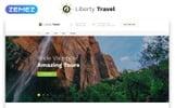 """Responzivní Šablona mikrostránek """"Liberty Travel - Travel Agency  Modern HTML Bootstrap"""""""