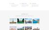 Plantilla para Página de Aterrizaje para Sitio de Agencias de viajes Captura de Pantalla Grande