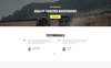 FIXIT - Tractor Repair Multipage Classic HTML Website Template Big Screenshot