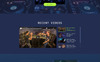 JD Mix - Music Festival Creative HTML Bootstrap Templates de Landing Page  №79307 Screenshot Grade