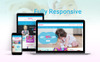 """Template PrestaShop Responsive #79333 """"Toyster - Toy Store Clean Bootstrap Ecommerce"""" Screenshot grande"""