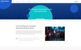 B-Rock Band - Music Band Multipage Creative HTML Template Web №79340