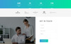 """""""Digimint - Business Services Clean HTML"""" - адаптивний Шаблон цільової сторінки Великий скріншот"""