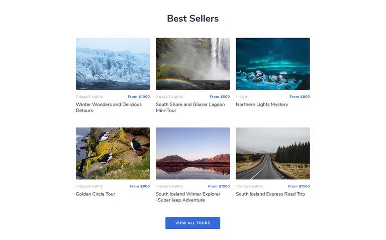 Explore Tour Landing Page HTML Template