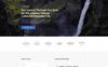"""Responzivní Šablona mikrostránek """"Explore Tour - Travel Agency Modern HTML"""" Velký screenshot"""