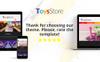 """ToysStore - Kids Play Games Store Clean Bootstrap"" Responsive PrestaShop Thema Groot  Screenshot"