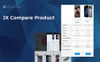 Nextprest - Electronics Store Clean Bootstrap Ecommerce PrestaShop Theme Big Screenshot