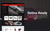"""Spare Parts - Automobile Replacement Parts Clean Bootstrap Ecommerce"" thème PrestaShop adaptatif"
