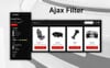 """""""Spare Parts - Automobile Replacement Parts Clean Bootstrap Ecommerce"""" Responsive PrestaShop Thema Groot  Screenshot"""