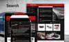 """Spare Parts - Automobile Replacement Parts Clean Bootstrap Ecommerce"" thème PrestaShop adaptatif Grande capture d'écran"