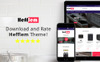 "Tema Magento #79914 ""Hefflem - Kitchen Equipment eCommerce"" Screenshot grande"