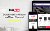 "Tema Magento #79914 ""Hefflem - Kitchen Equipment eCommerce"""