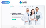 Healthia - Medical & Healthcare Clean Multipage HTML Website Template