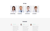 Responsivt Healthia - Medical & Healthcare Clean Multipage HTML Hemsidemall