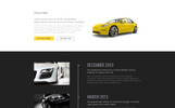 """Website Vorlage namens """"PowerOne - Electric Cars Classic Multipage HTML5"""""""