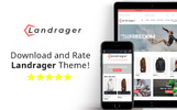 Reszponzív Landrager - Extreme and Outdoor Sports eCommerce Magento sablon