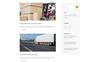 """""""Mingo - Delivery Services Multipage Clean HTML"""" modèle web adaptatif Grande capture d'écran"""