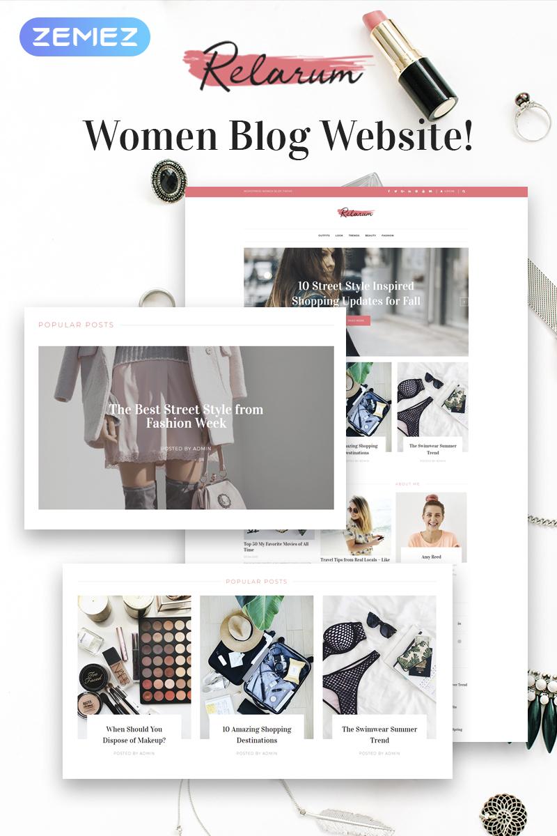 Адаптивный шаблон №80997 на тему мода и красота, блог о моде