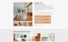 COZY - Flooring Materials Responsive Modern HTML Website Template Big Screenshot