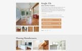 COZY - Flooring Materials Responsive Modern HTML Website Template