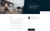 "Website Vorlage namens ""Pelicor Floor - Flooring Services Multipage HTML5"""