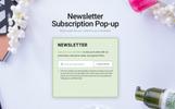 """""""OrganicCosmetics - Clean eCommerce Cosmetics Store"""" thème Magento adaptatif"""
